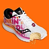 Just look at that adorable strawberry-frosted doughnut medallion attached to the laces!