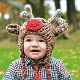 Reindeer Hat With Ear Flaps
