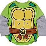 Boys Long Sleeve Teenage Mutant Ninja Turtles T-Shirt