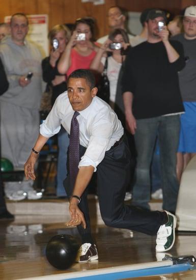 Barack Obama on Letterman
