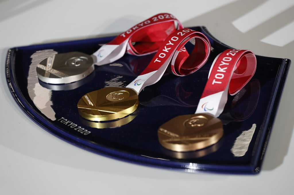 The Tokyo 2020 Paralympic Medals