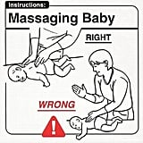Massaging Baby