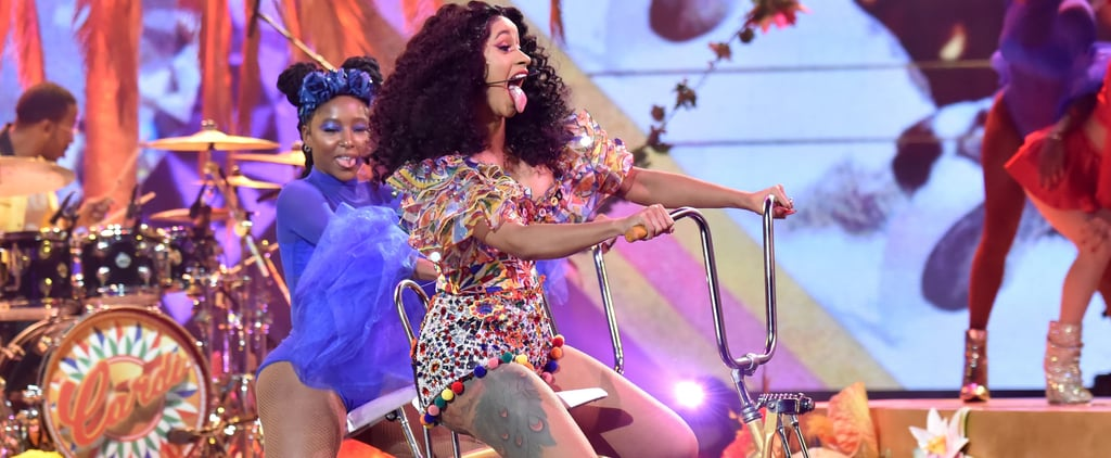 What Is Cardi B's Leg Tattoo?