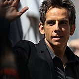 Ben Stiller waved at the Cannes Film Festival.