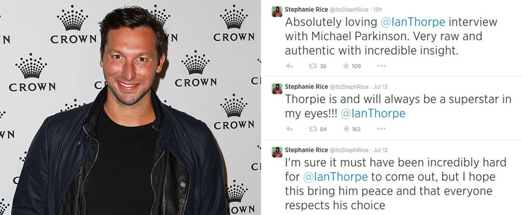 Celebrities React to Ian Thorpe Revealing He's Gay