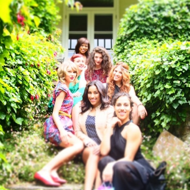 Taylor Swift skipped the snow for a bright and dreamy birthday. Source: Instagram user taylorswift