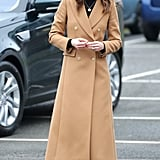 Kate Middleton in Cardiff, Wales 2020