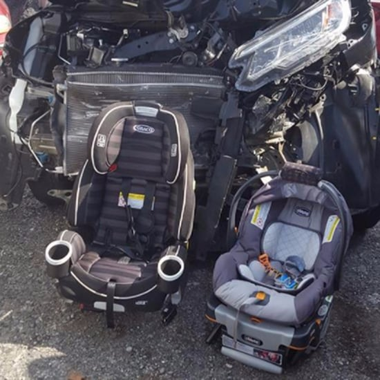 Mom's Photo Reminds Parents About Car Seat Safety