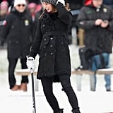 Kate Middleton Wearing a Beanie in Sweden