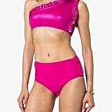 Leslie Amon Tamini Ruffle Detail Bikini