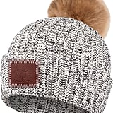 Love Your Melon Cuffed Pom Beanie