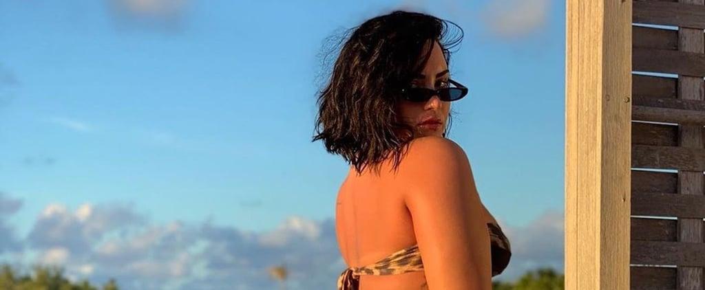 Demi Lovato's Unedited Instagram Post About Cellulite