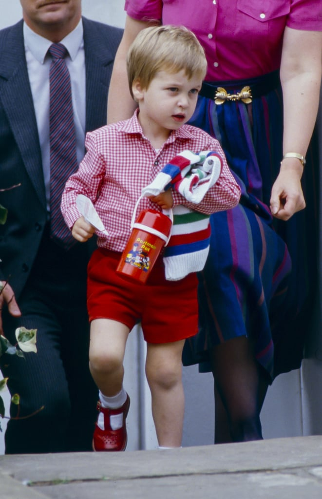 Prince William and Prince George Preschool Pictures