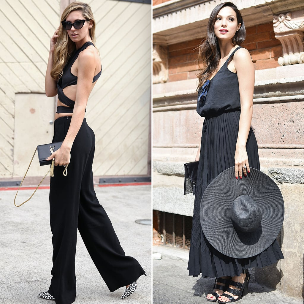 Best summer street style popsugar fashion - Best Black Clothes For Summer Street Style Photos Popsugar Fashion Uk