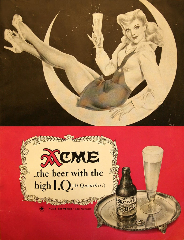 Hey ladies, choose your beer like you choose your men —the higher the IQ, the better.
