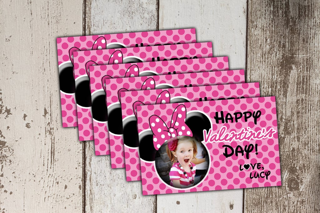 Personalized Minnie Mouse Valentines