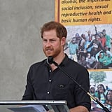Prince Harry Visiting Zambia Pictures November 2018