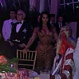 And She Fan-Girled Over Kim Kardashian's Toned Figure