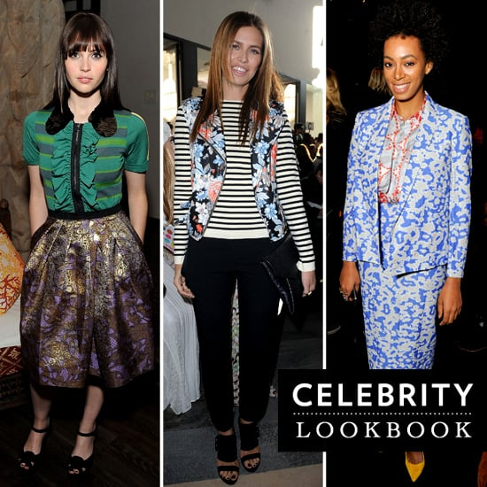 See How Olivia Palermo, Diane Kruger, Solange Knowles and More Mix Their Prints and Shop the Look
