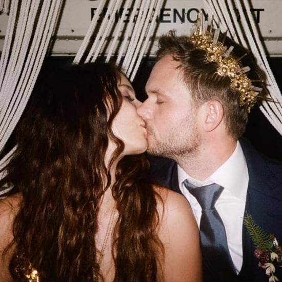 Troian Bellisario and Patrick J. Adams Wedding Pictures