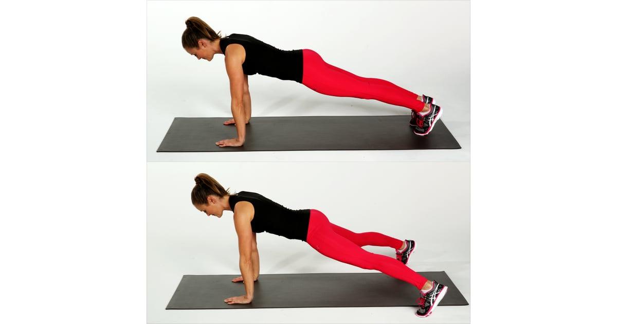Plyometrics plank jacks best bodyweight exercises for Plank jacks