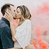"1 Mom Says ""Take That Infertility"" With a Gorgeous Gender-Reveal Photo Shoot"