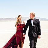 Sexy Desert Engagement Photo Shoot