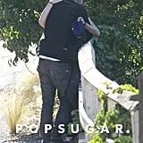 Kristen Stewart embraced Rupert Sanders.