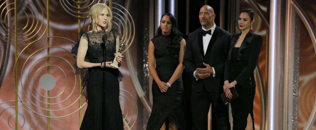 الفائزون بجوائز الغولدن غلوب 2018