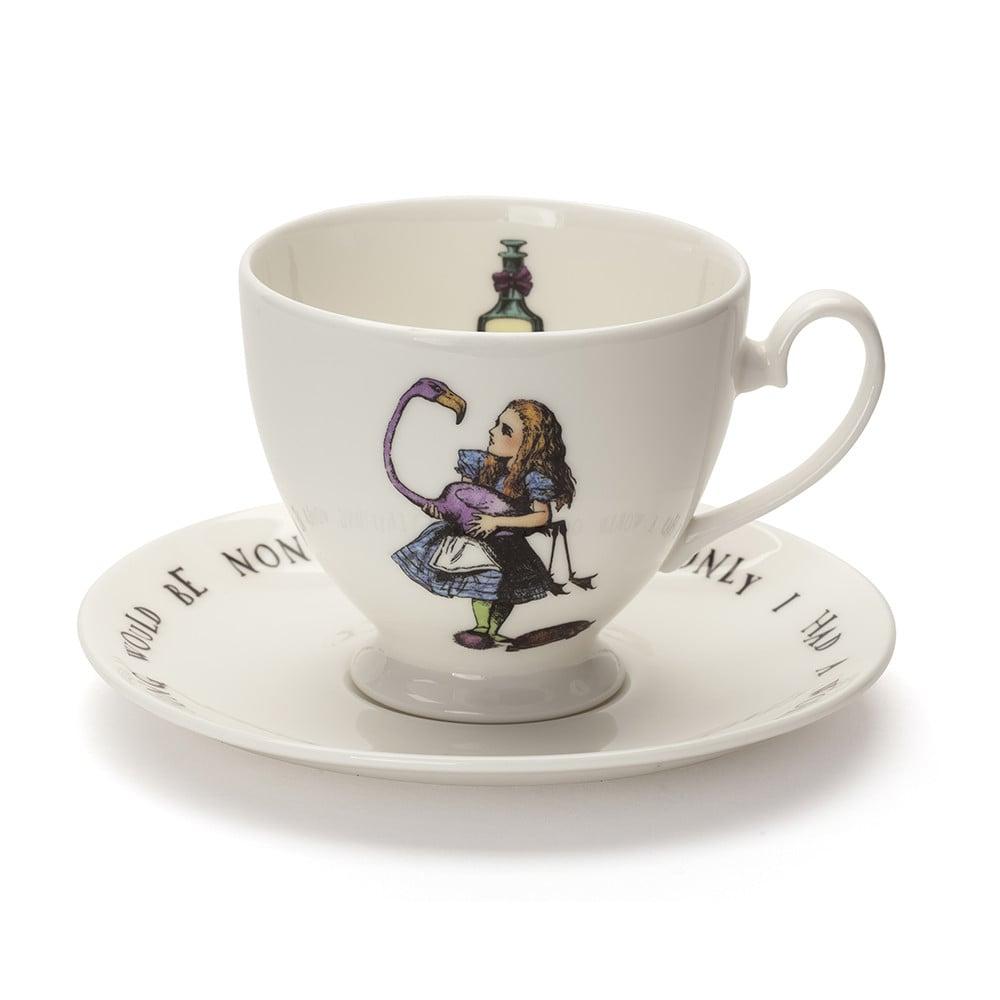 Vintage Alice in Wonderland Teacup With Saucer ($45)