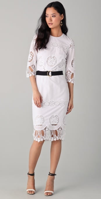By Malene Birger Riyad Eyelet Dress ($515)