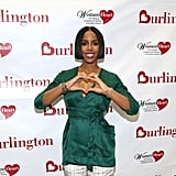 On her partnership with Burlington and WomenHeart: