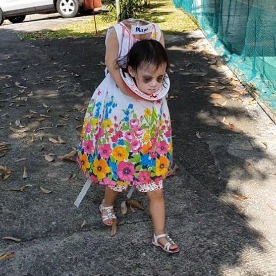Headless Girl Costume
