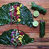 Liven up a typical wrap by choosing unusual ingredients that vary in color. The better it looks, the more inviting it is to eat. These wraps get a punch of color from beets.