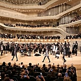"Karl Staged His ""Trombinoscope"" Collection at Elbphilharmonie Concert Hall in Hamburg"