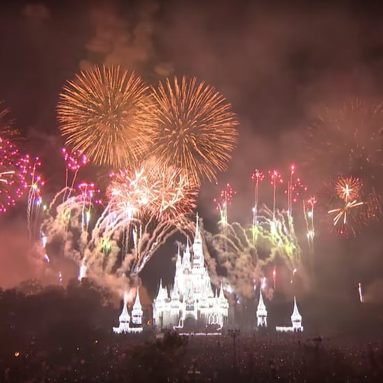 New Year's Eve Fireworks at Walt Disney World