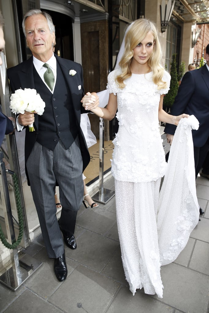 Poppy Delevingne Wearing Chanel in May 2014