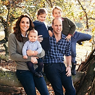 Prince William Kate Middleton Family Christmas Card Photo 2018