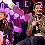 Nikki Reed and Peter Facinelli on stage at the Chicago House of Blues.