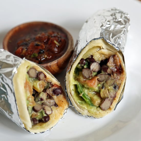 Easy Vegetarian Burrito