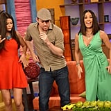 In June, Channing Tatum got in a bit of salsa dancing during a TV appearance on Univision's Despierta América program in Miami.