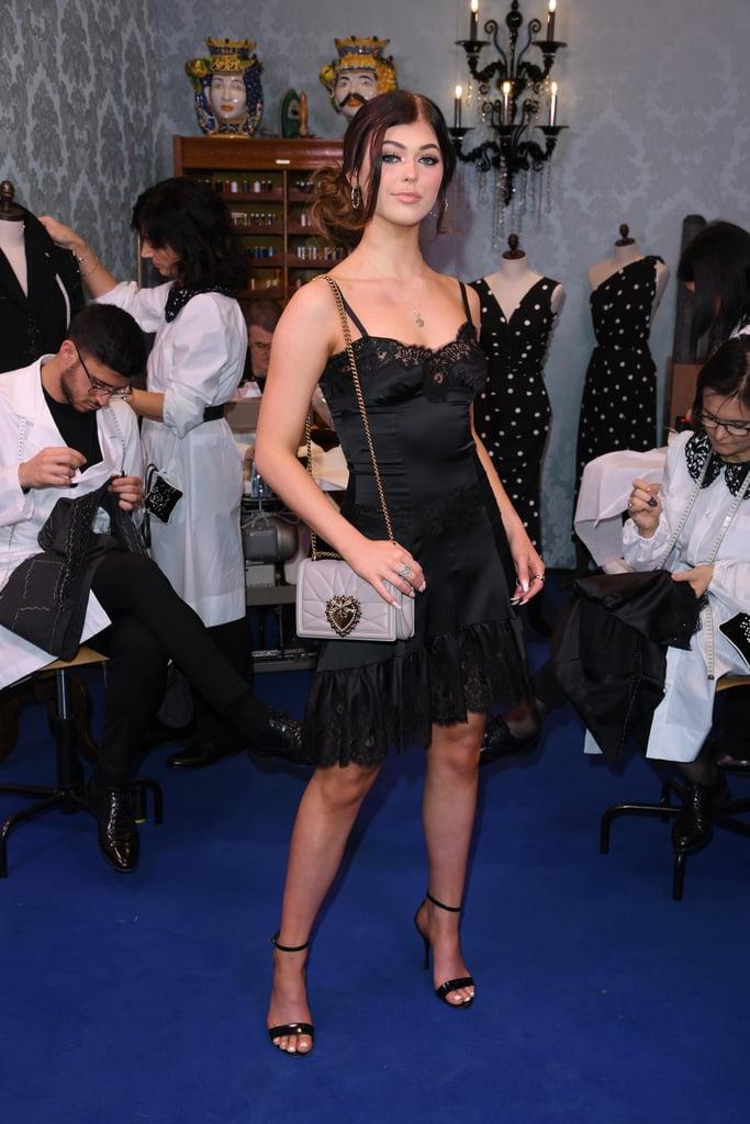 Loren Gray at the Dolce & Gabbana Fall 2020 Show