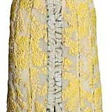 H&M's Jacquard-Weave Dress ($249) is made with glittery threads and features a slit in the front.