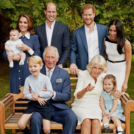 صورة عائلية للأسرة الملكية بمناسبة عيد ميلاد الأمير تشارلز ف