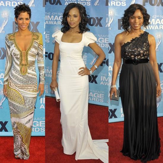 Celebrities at 2011 NAACP Image Awards