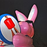 The Energizer Bunny keeps going and going in the Macy's Thanksgiving Day Parade.