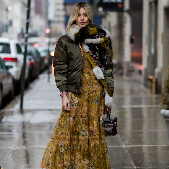 How to Wear a Maxi Dress in Winter