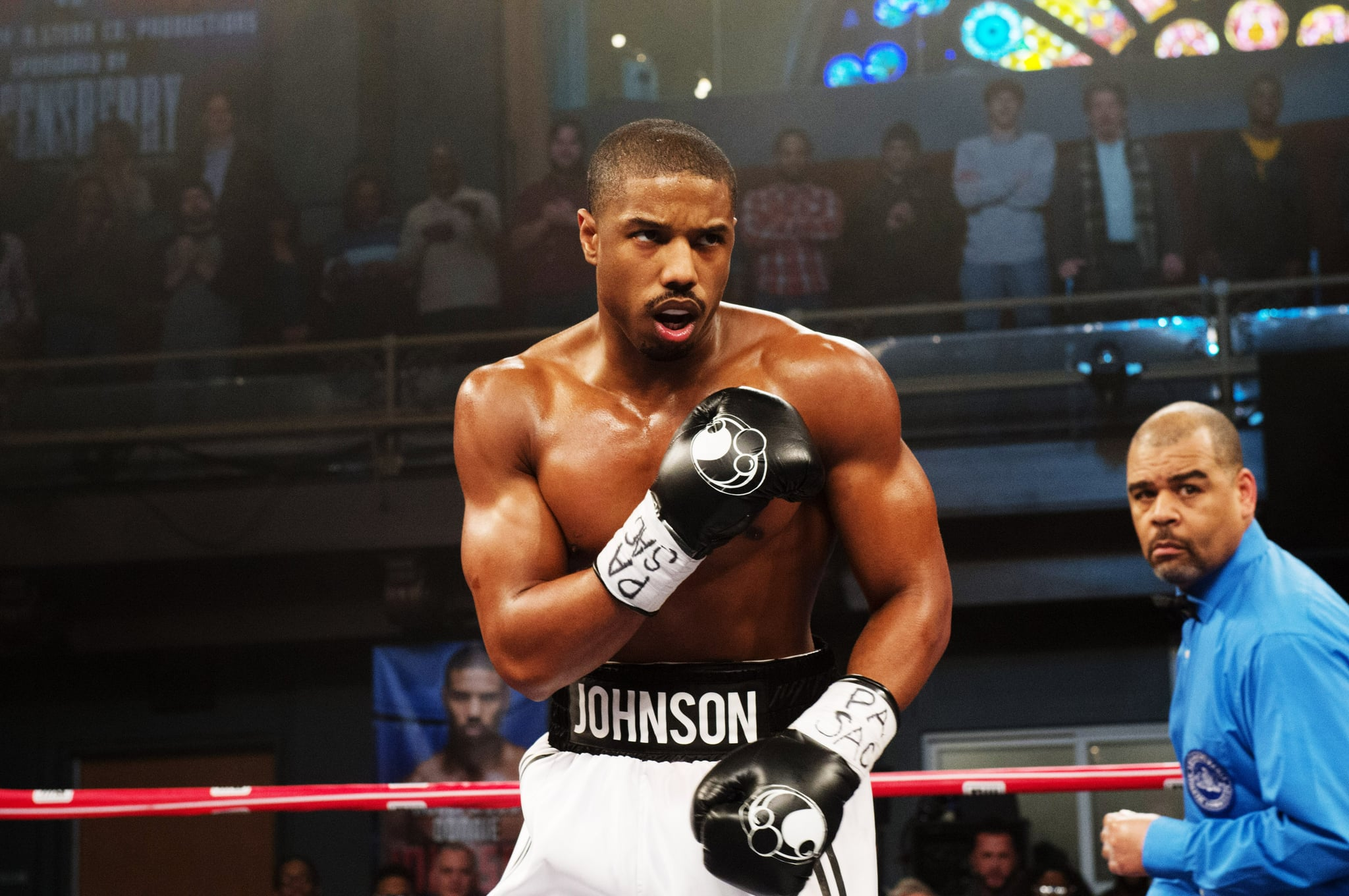 CREED, Michael B. Jordan, 2015. ph: Barry Wetcher/Warner Bros./Courtesy Everett Collection