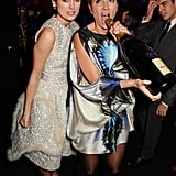 Keira Knightley and Emma Thompson