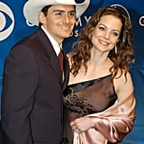 Brad Paisley and Kimberly Williams, 2003